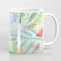 Tropical Garden Pattern Mug