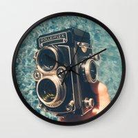Rolleiflex Wall Clock