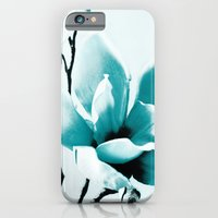 iPhone & iPod Case featuring Mono Magnolia by Sirka H.