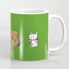 Beavers ruin Christmas Mug