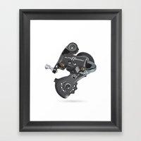 Campy Super Record Rear … Framed Art Print