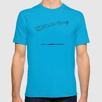 Where are the stagnant waters 4 Mens Fitted Tee Teal SMALL
