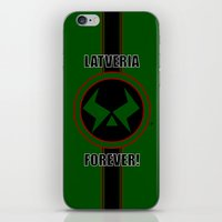 Latveria Forever! iPhone & iPod Skin