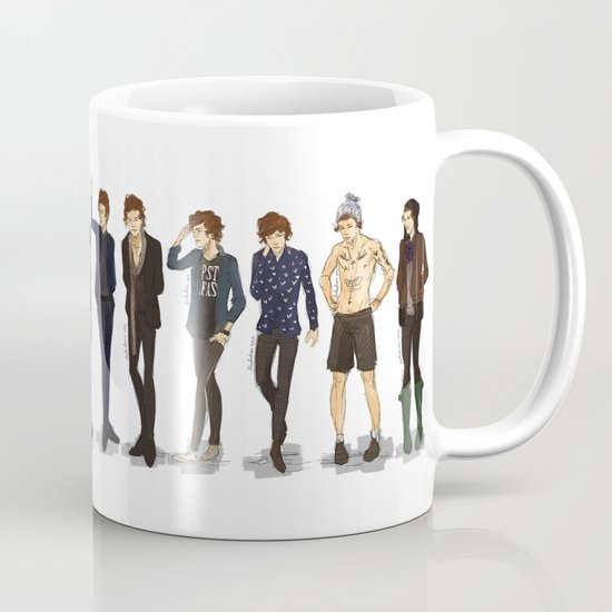 Styles 39 Style Mug By Rosketch Society6
