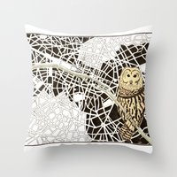 There Is Never Any End Throw Pillow