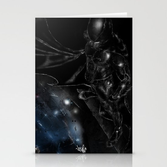 A Dark Knight Stationery Card