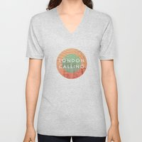 Songs and Cities: London Calling Unisex V-Neck