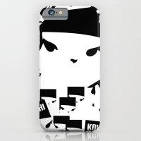 Geometric Print Kokeshi ((s)) iPhone 6 Slim Case