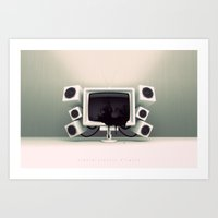 Liquid Crystal Display Art Print