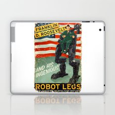 Franklin D. Roosevelt and his Amazing Robot Legs.... Laptop & iPad Skin