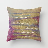 Juanagene's Valentine Throw Pillow