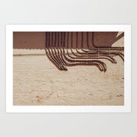 Electric Abstract Art Print