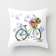 Fresh from the Market Throw Pillow