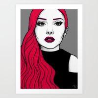 Self Portrait 2016 (Colour) Art Print