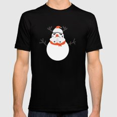 Day 16/25 Advent - Snow Trooper Mens Fitted Tee SMALL Black