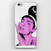 Glamour1 iPhone & iPod Skin