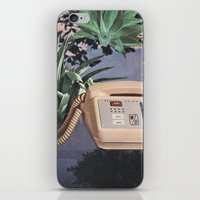 Late Nite Phone Talks iPhone & iPod Skin
