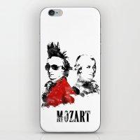 Mozart Punk iPhone & iPod Skin