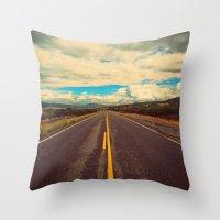 Big Sky Country Throw Pillow