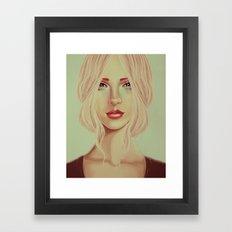 Lady Lynn Framed Art Print