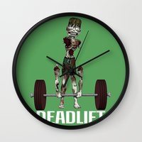 Crossfit Zombie By Ronky… Wall Clock