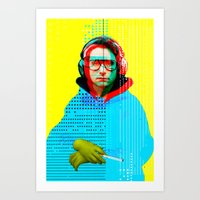 Gioconda Music Project · Beastie Boys · Adam Horrovitz Art Print