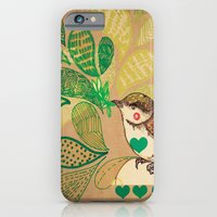 iPhone & iPod Case featuring A   L I T T L E   B I R D by Jo Cheung Illustration