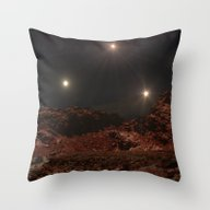 Last Night Of The Triple… Throw Pillow