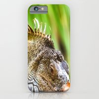 Chameleons master of disguise iPhone 6 Slim Case
