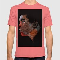 Mohamed Ali Color Mens Fitted Tee Pomegranate SMALL