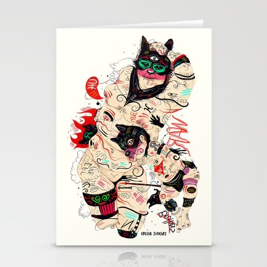 Wolfmother Stationery Card