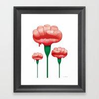 Seeds Of Rebellion Framed Art Print