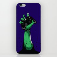 Zombie Gamer iPhone & iPod Skin
