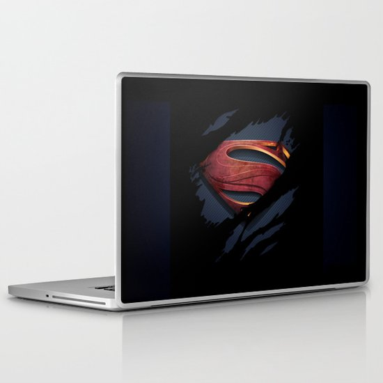 Man of Steel Laptop & iPad Skin