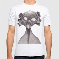 Meeting With Beksinski Mens Fitted Tee Ash Grey SMALL