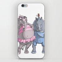 Animal Mural Crew iPhone & iPod Skin
