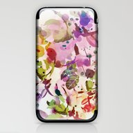 Multicolore Abstract Fuc… iPhone & iPod Skin
