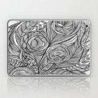 Garden of fine lines Laptop & iPad Skin