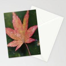Japanese Maple Leaf 2 Stationery Cards