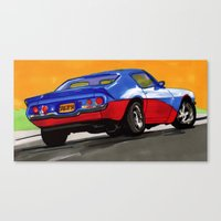 Fast & Furious Canvas Print