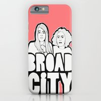 iPhone & iPod Case featuring Broad City by ARTEATCHOKE
