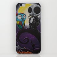 Jack&Sallyowls2 iPhone & iPod Skin