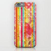 Retro Pattern Collage iPhone 6 Slim Case