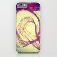 iPhone & iPod Case featuring Gasping For Air by Guillermo de Llera