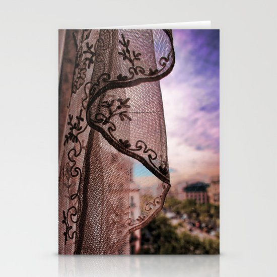 Gaudi's Window Stationery Card