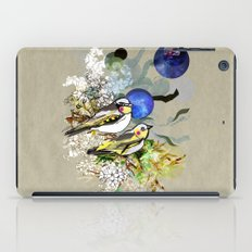 Yellow Birds iPad Case
