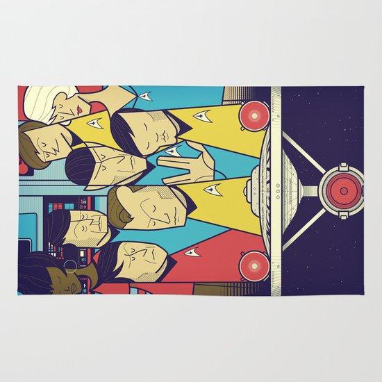 Star Trek Area & Throw Rug