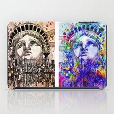 new york city pop art iPad Case