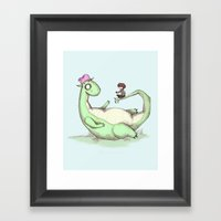 Elliot Framed Art Print