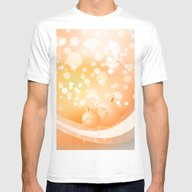 Christmas Design Mens Fitted Tee White MEDIUM
